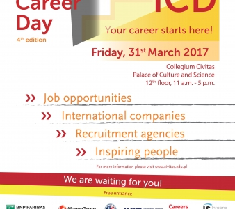 Odbyły Się International Career Days 2017 (31.03.2017 godz.11:00)
