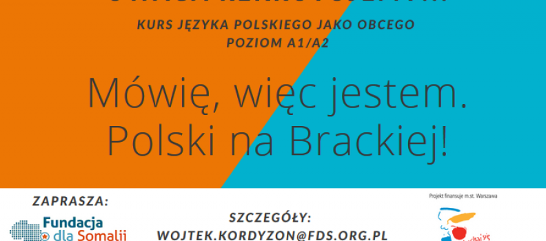 Polish courses at Bracka Str.!