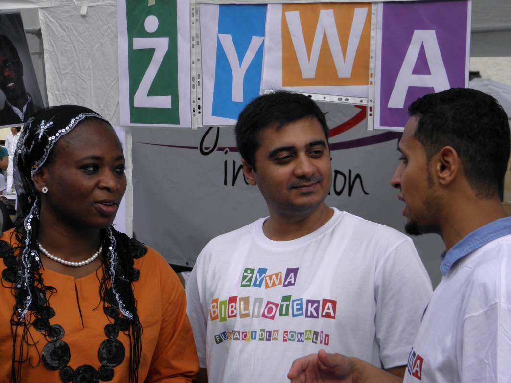 Immigrants In Action - Projekt Fundacji dla Somalii
