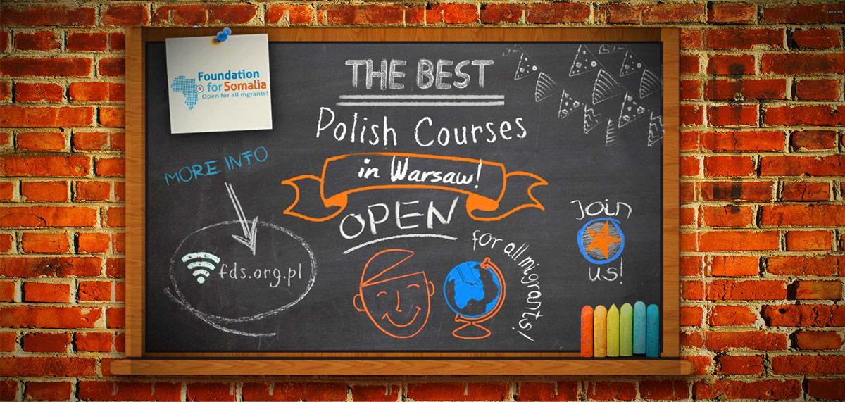 Rejestracja na bezpłatne kursy polskiego w FdS! WRZESIEŃ 2016