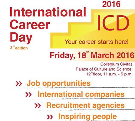 International Career Days 2016