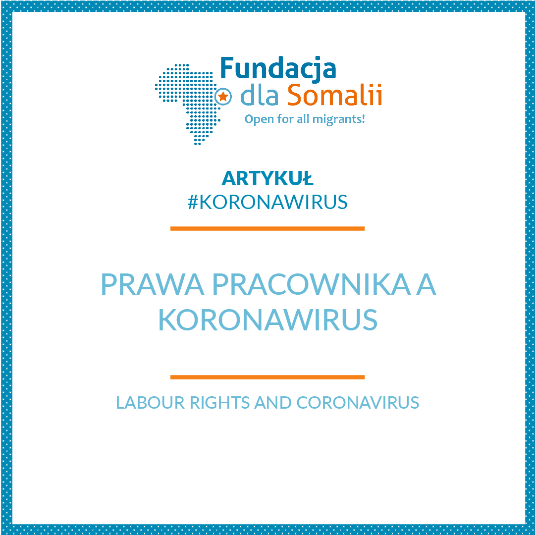 Prawa pracownika a koronawirus