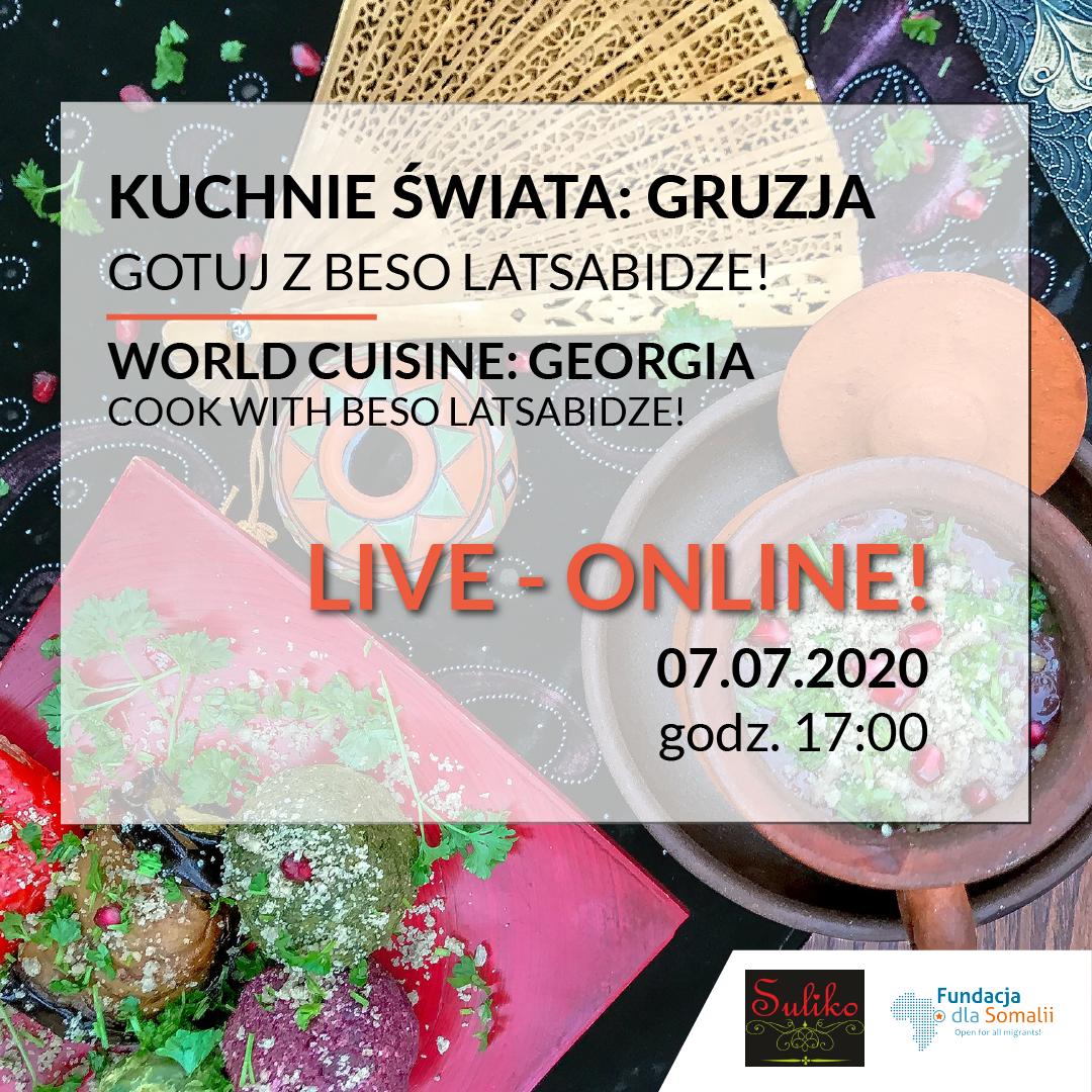 Kuchnie Świata Online: Gotuj z Beso Latsabidze