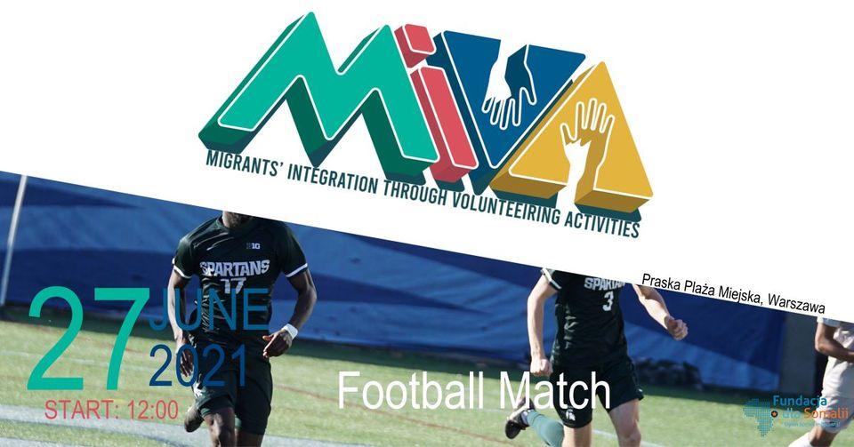 Plażowy mecz piłki nożnej MIVA