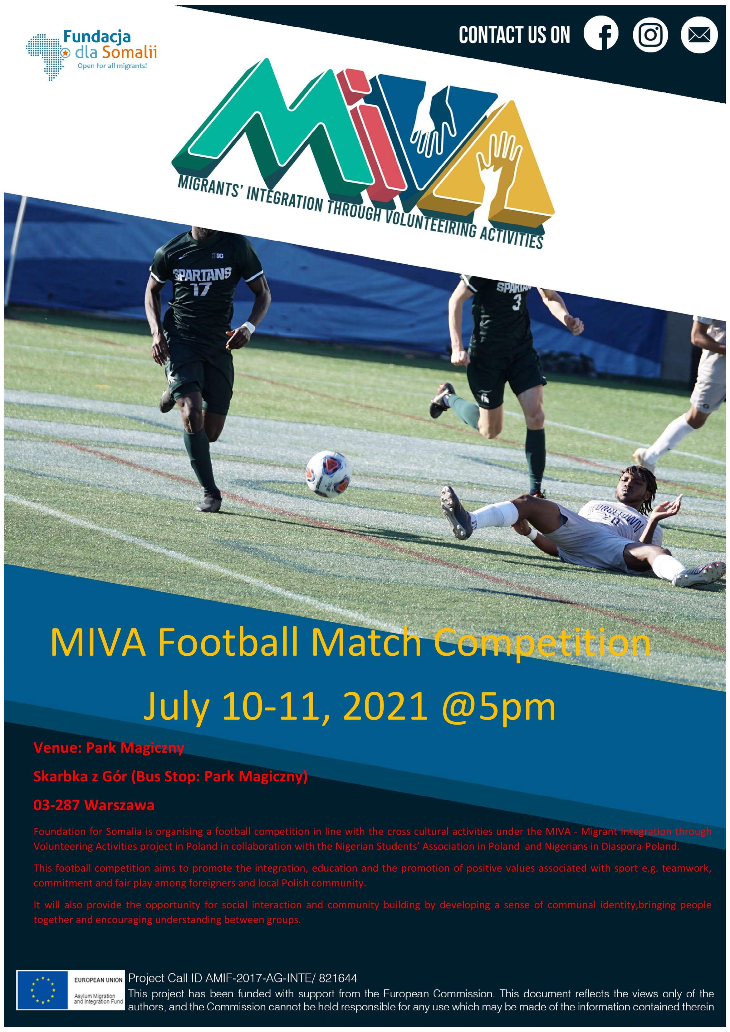 Turniej Piłki Nożnej MIVA!