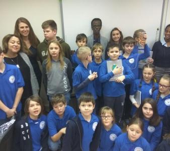 Spotkanie w Warsaw Bilingual School!