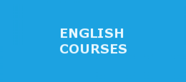 ENGLISH LANGUAGE COURSES!