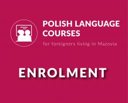 Recruitment for Polish language courses!