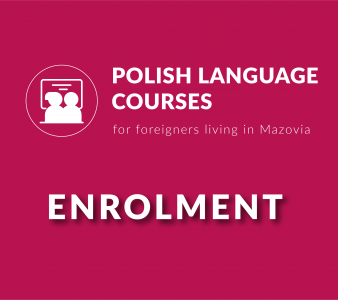 First term of enrolment for polish language course