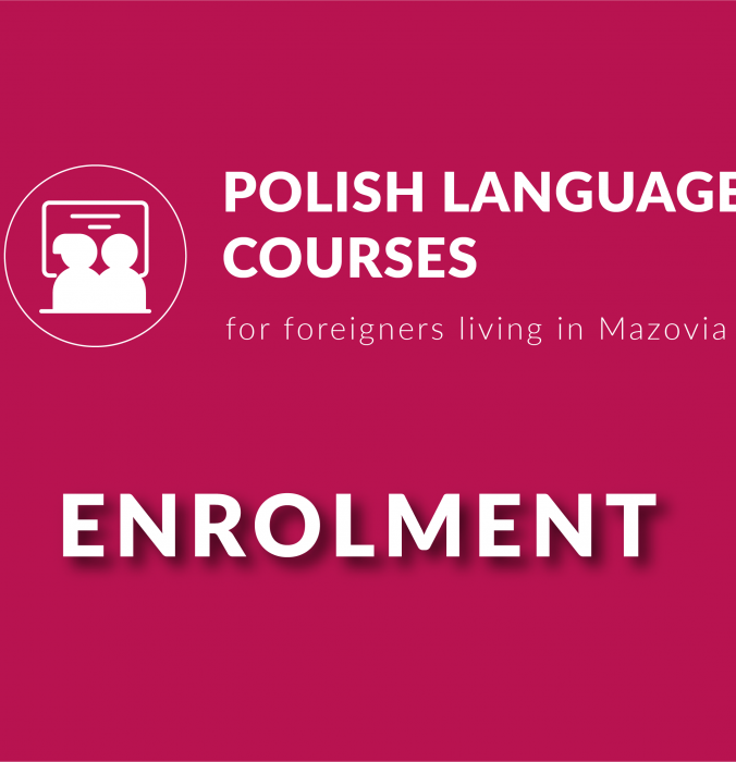 Enrolment for polish language course!