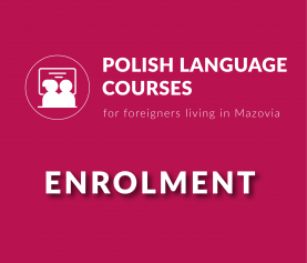 AVAILABLE PLACES FOR POLISH LANGUAGE COURSES!