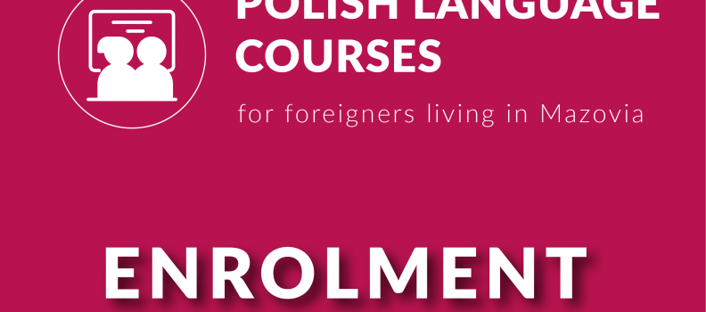 Recruitment for Polish language courses!