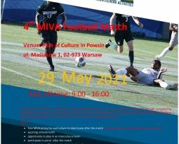 Mecz piłkarski MIVA