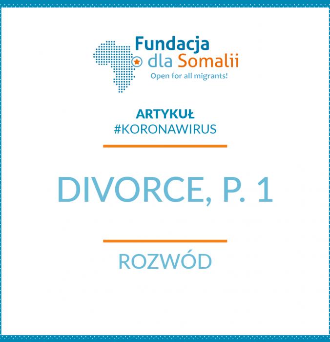 Divorce, p. 1