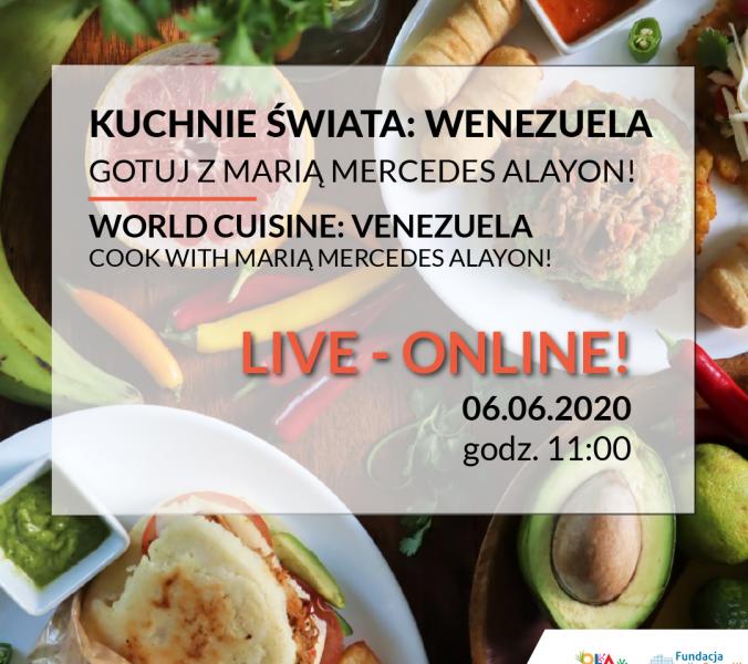 Kuchnie Świata Online: Gotuj z Marią Mercedes Alayon!