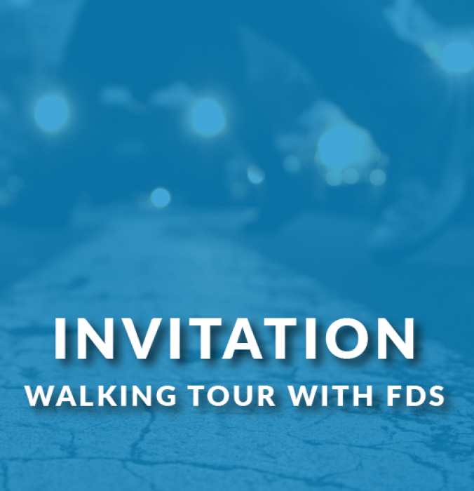 Walking tour with FDS