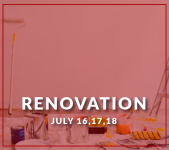 Renovation in FdS' office