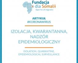 Izolacja, kwarantanna, nadzór epidemiologiczny
