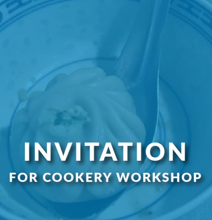 Cookery workshop!