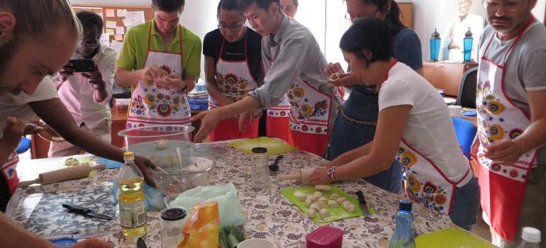 warsztat, kuchnia, erytrea, imigranci, integracja