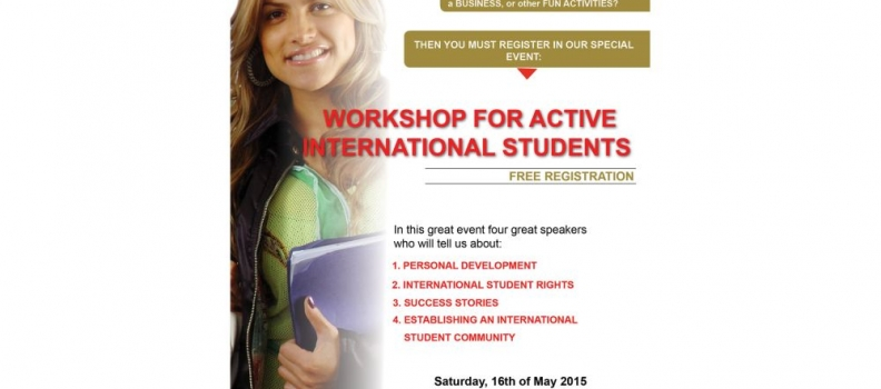 Rivani: Workshop for active international students