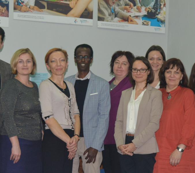 Delegacja z Łotwy i Czech w naszej Fundacji!