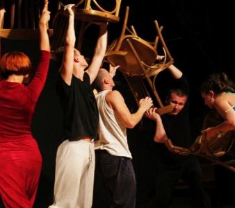 Integracja przez taniec – warsztat z Maszą Tryputsen