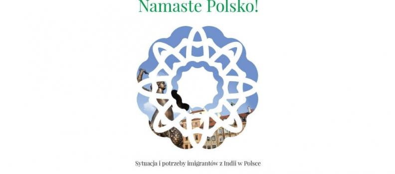 Namaste Polsko! The book