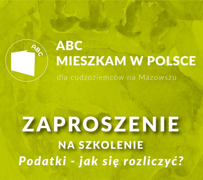 ABC Mieszkam w Polsce – podatki