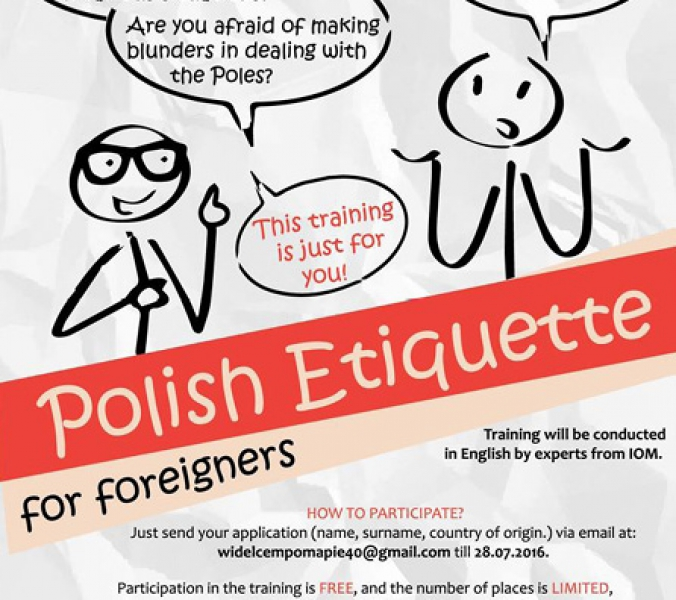 Polish etiquette for foreigners!
