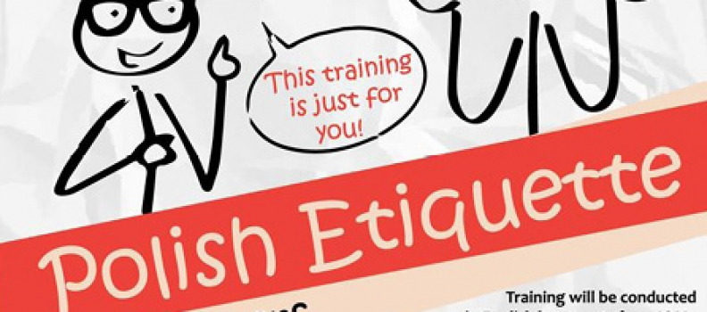 WORKSHOP: Polish etiquette for foreigners!