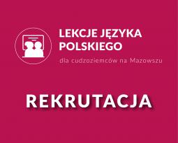 Wolne miejsca na kursy języka polskiego