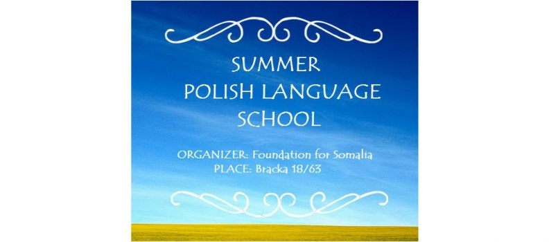 We invite you to the Summer Polish Language School!