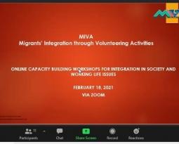 MIVA: NEXT CAPACITY BUILDING WORKSHOPS